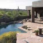 Flagstone patio and pool deck   2004 ALCA Award of Excellence