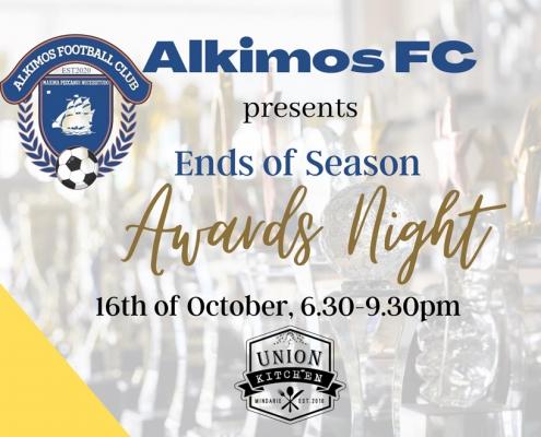 2021 Alkimos FC Awards Night Poster
