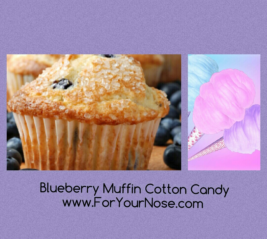 Blueberry Muffin Cotton Candy