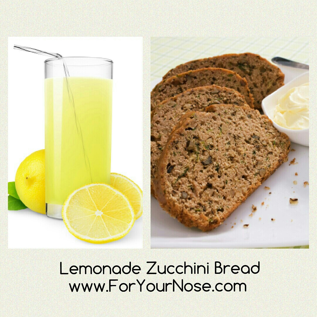 lemonade zucchini bread fragrance