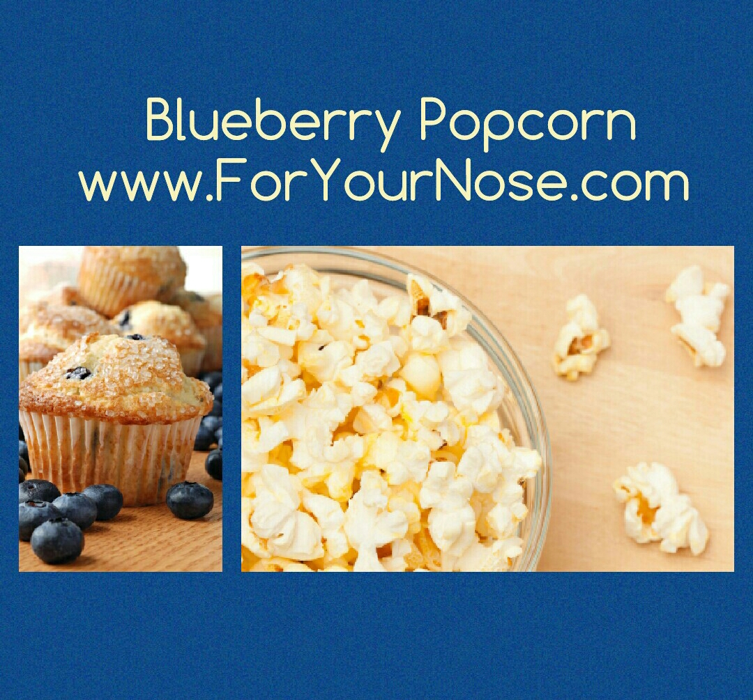 blueberry popcorn fragrance