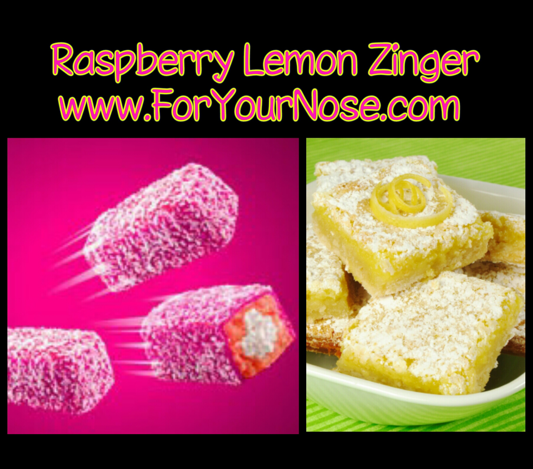 raspberry lemon zinger fragrance