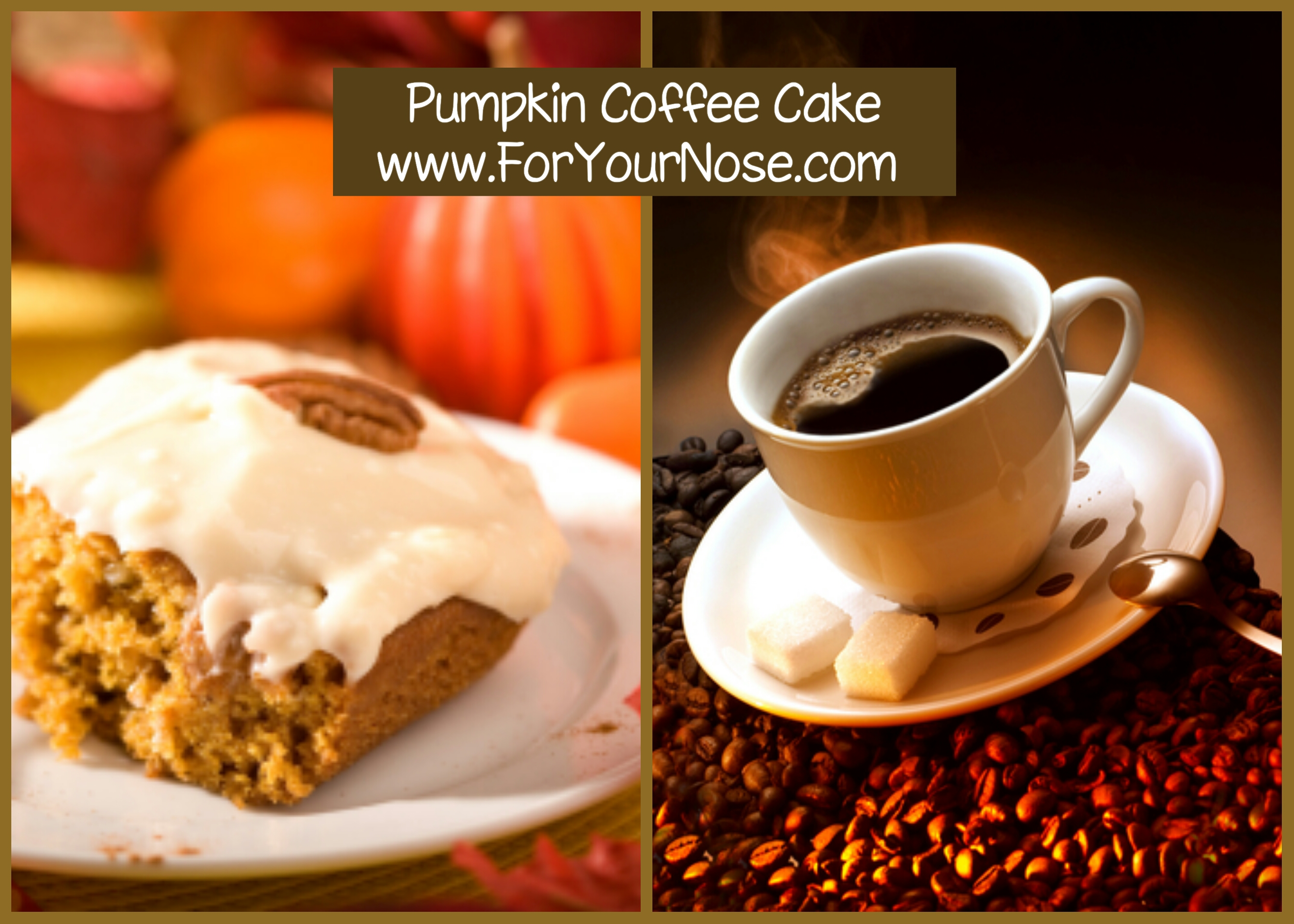 pumpkin coffee cake fragrance