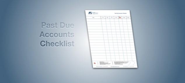 Past Due Accounts Checklist