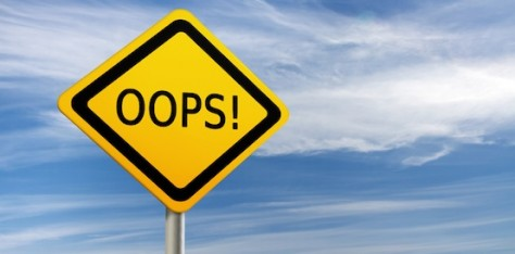 Five of the most costly mistakes