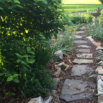 Walking path in The Calendar Garden