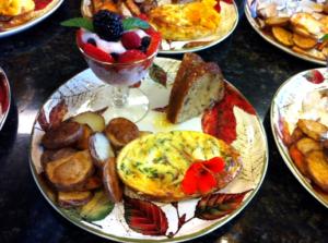 Fall Breakfast plate