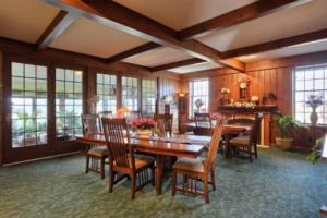 Main Dining Room toward glass walls