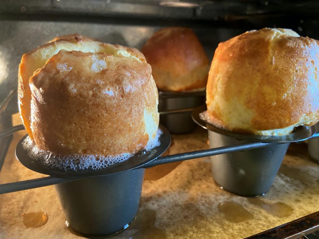 Annville Inn's Famous Popover Recipe