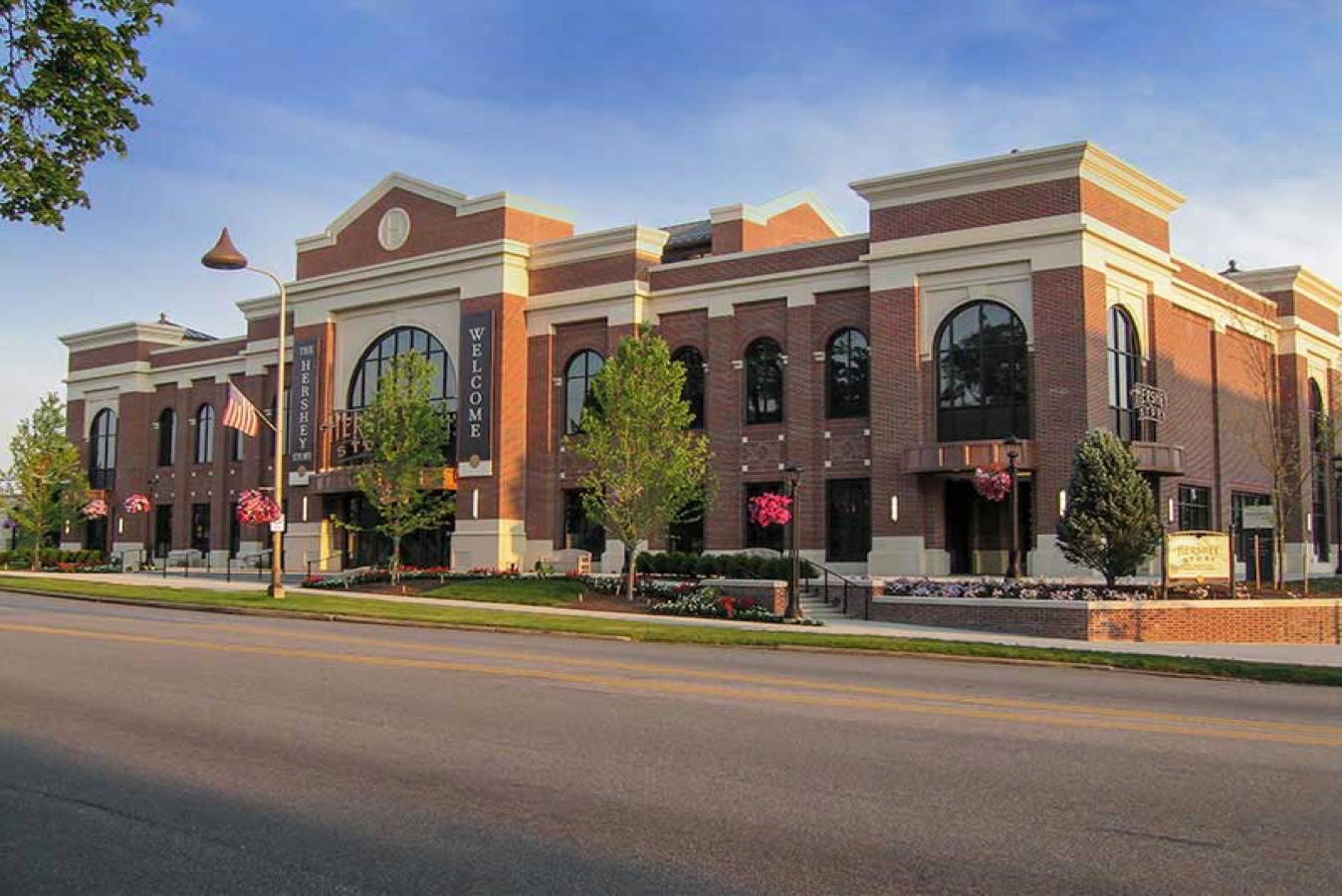 Exterior of Hershey Story Museum