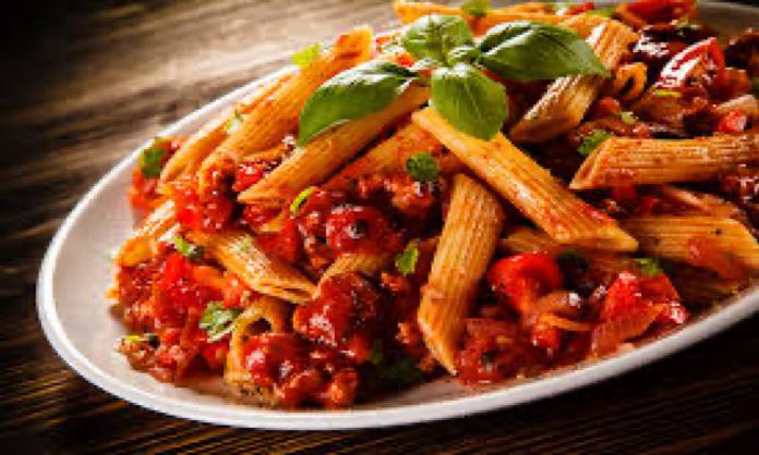 Italian Dish with Tomato Sauce