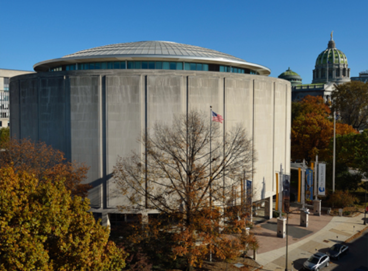 Pennsylvania State Museum seen from outside