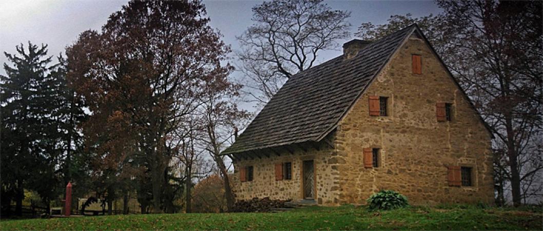 Early Pennsylvania Stone building
