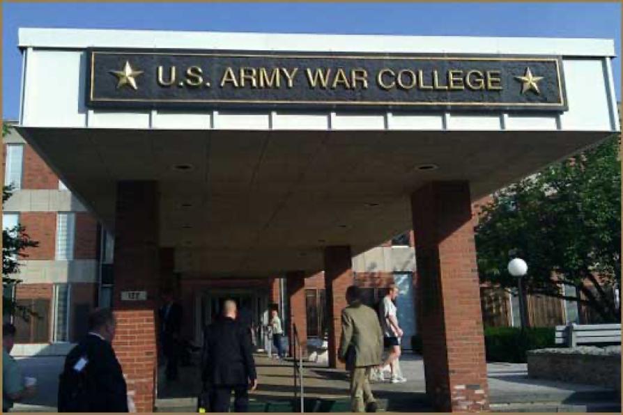 U.Ss. Army War College Entrance, Carlisle, PA