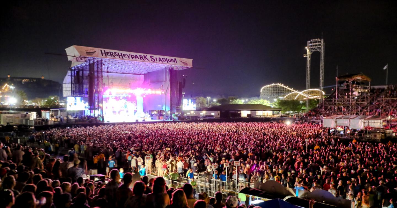 Concert at Hersheypark Stadium
