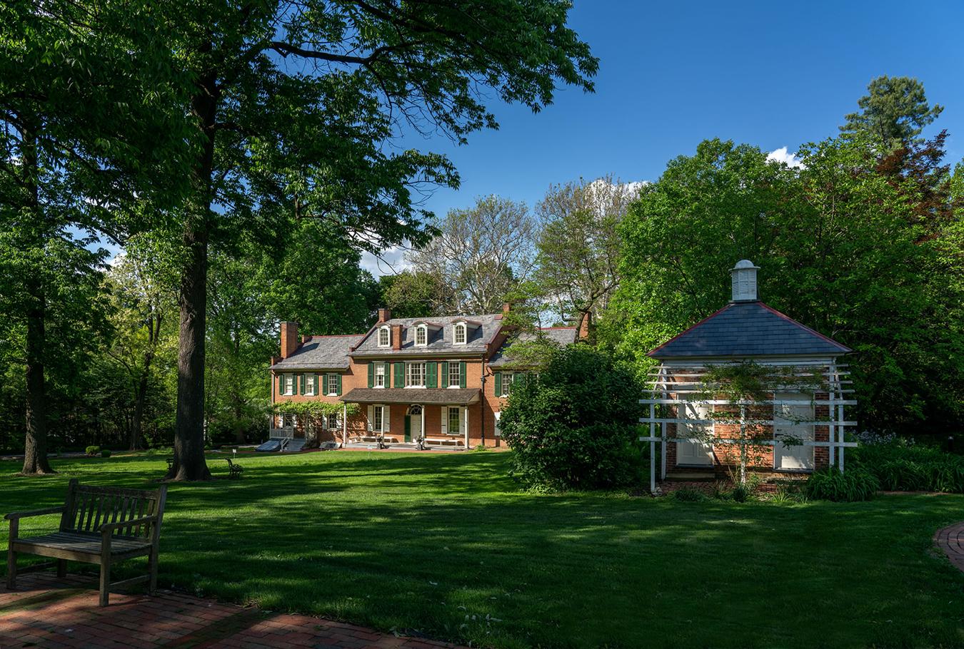 President Buchanan's Home exterior, Lancaster