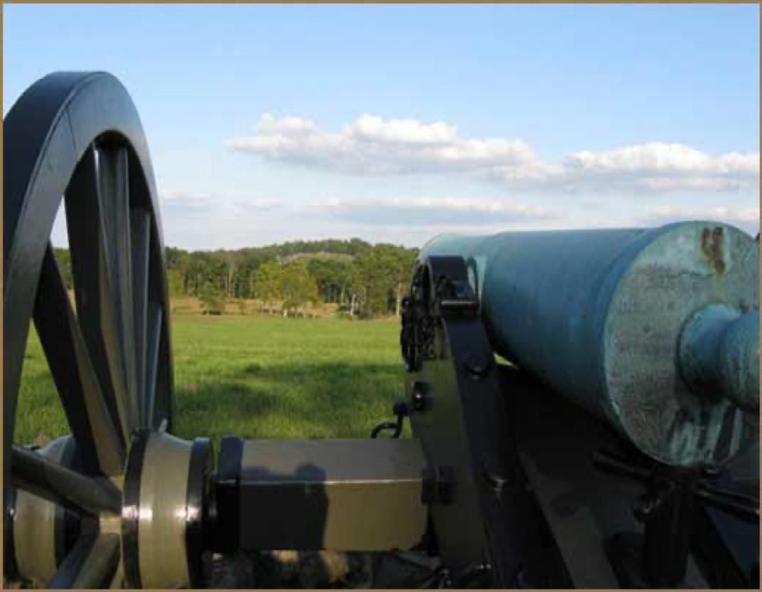 Civil War Cannon at Gettysburg, PA