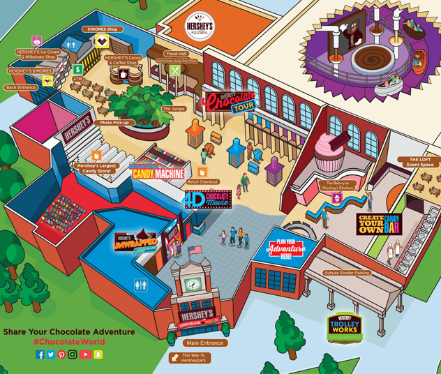 artist's concept of new entrance to Hersheypark