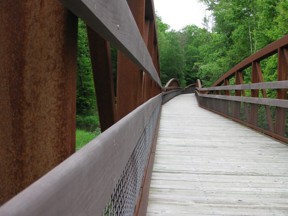 elevated walkway-trail