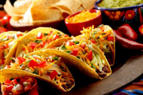 """Tacos and all the """"fixins"""""""