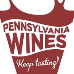 "text logo, ""Pennsylvania Wines, Keep Tasting"""