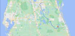 Orlando to Blue Cypress Lake