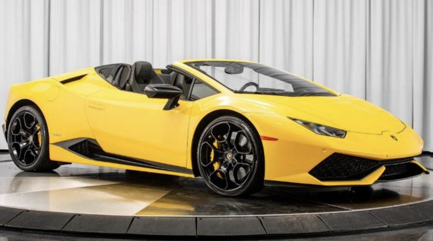 Rent Lamborghini Huracan Exotic car By rental Exotic-Luxury-Rental.com