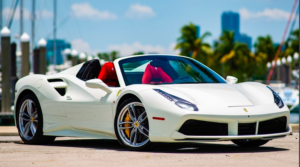 rent exotic car : Ferrari 488 rental Exotic-Luxury-Rental.com
