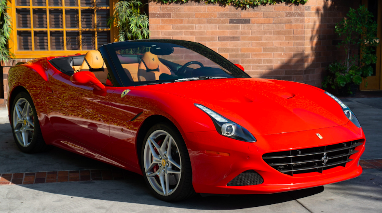 rent exotic car : Ferrari California rental By Exotic-Luxury-Rental.com