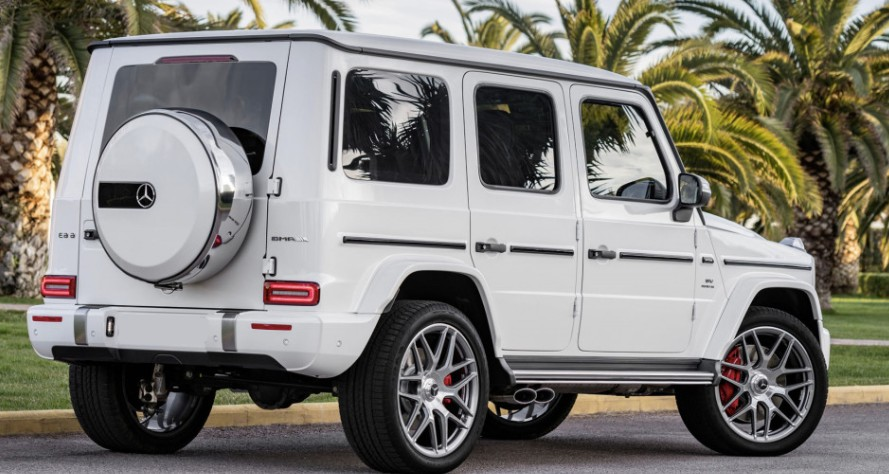 Rent Mercedes luxury SUV G Wagon G550 From Exotic-Luxury-Rental.com