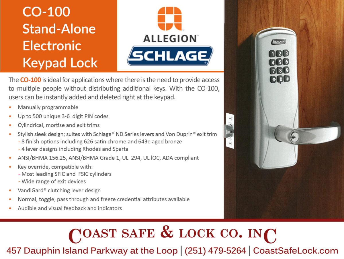 CO-100 Electronic Keypad Lock