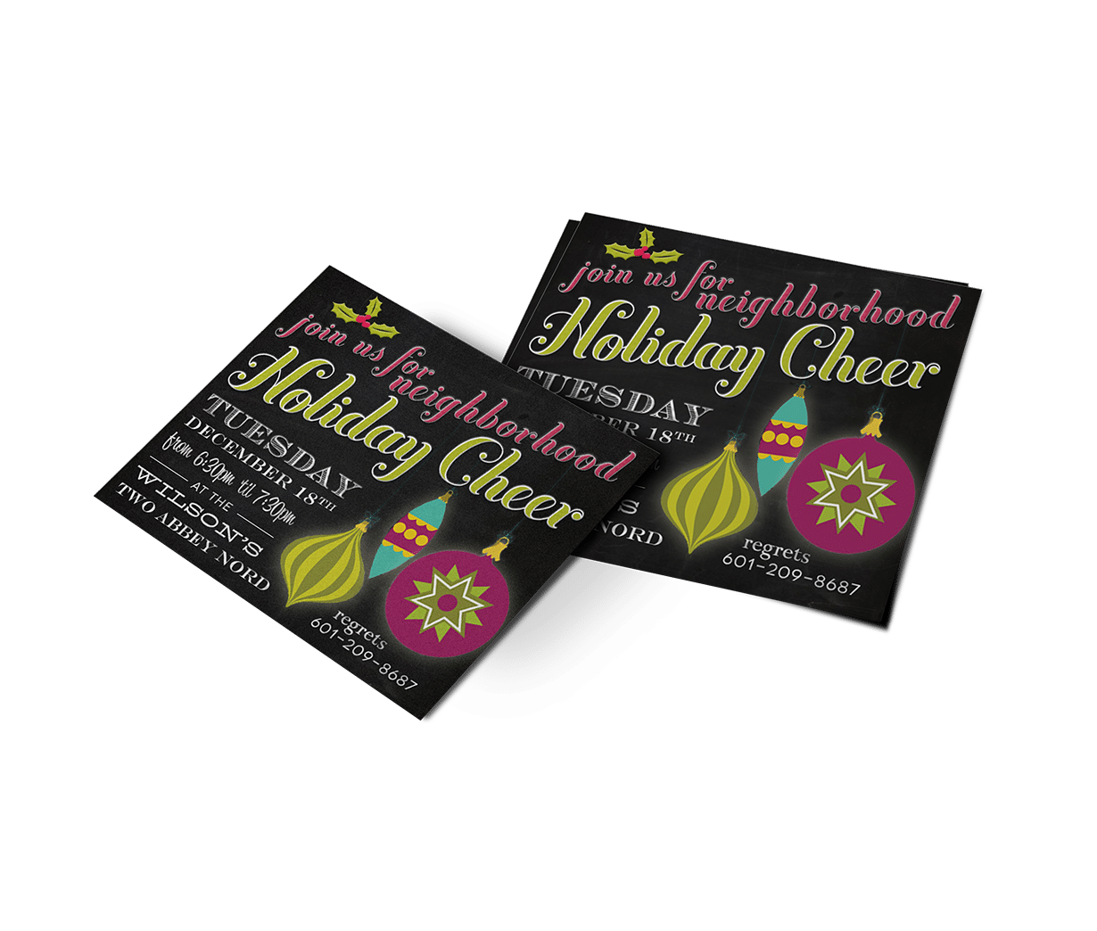 Christmas Party Invitation | Invitation Design