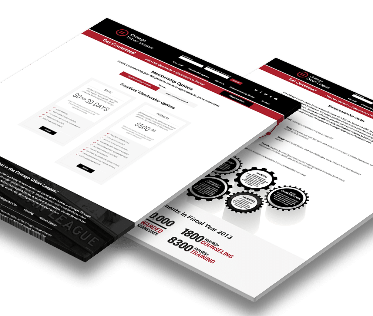Chicago Urban League Procurement Portal Web Design