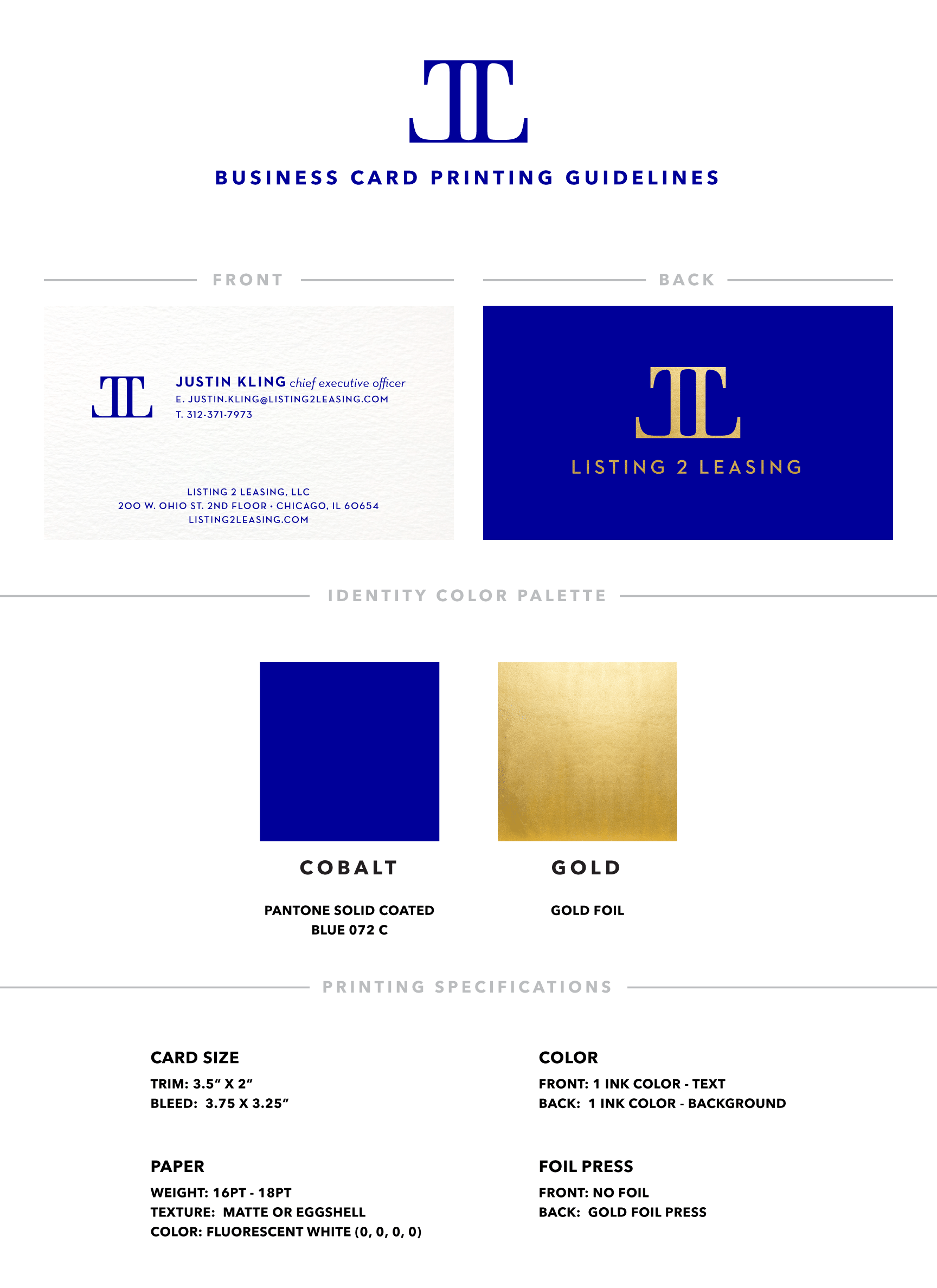 Listing 2 Leasing Brand Guidelines