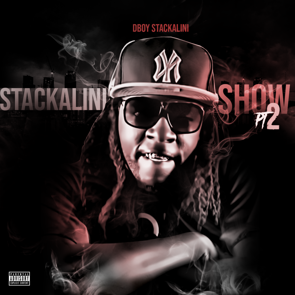 Cover art for the Stackalini Show mixtape
