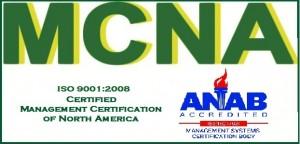 MCNA 9001 2008 Logo