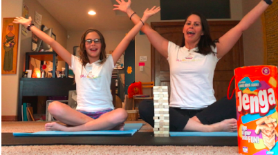 Kids Yoga Guide to Mindfulness with Yoga Jenga