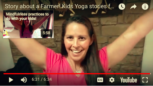 Story about a Farmer! Kids Yoga stories for ALL Ages!
