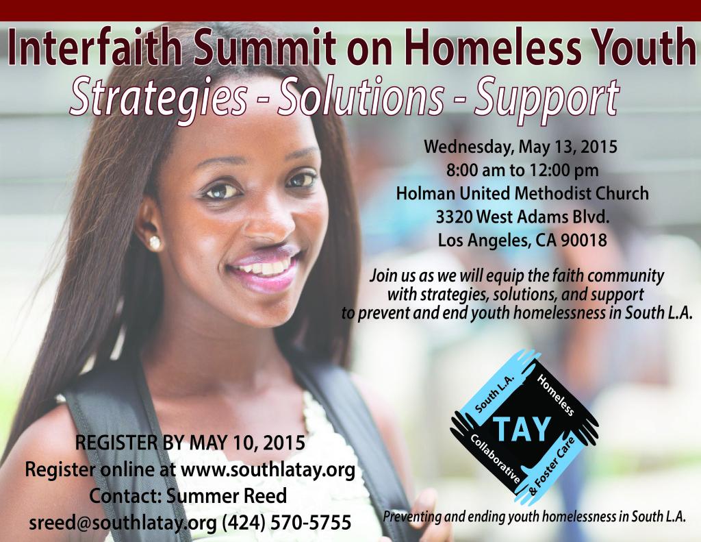 South LA TAY 2015 Interfaith Summit ver 2