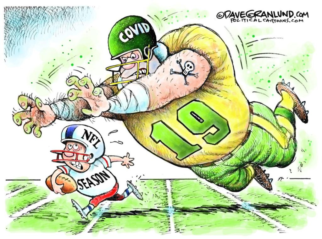 Covid-19 vs NFL