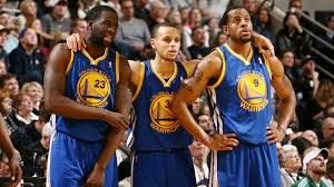 curry and team