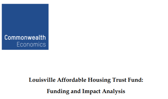 Louisville Affordable Housing Trust Fund: Funding and Impact Analysis