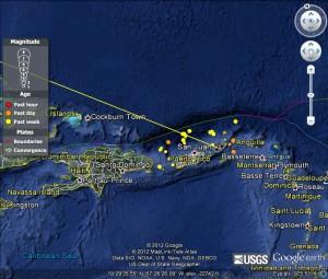 Virgin Islands Earthquake 99