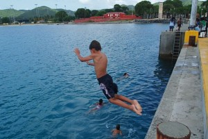fsted pier swimming