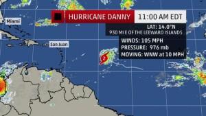 hurricane danny 5
