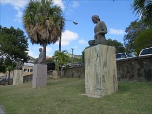 edith williams statue