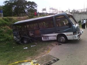 bus crash jamaica last
