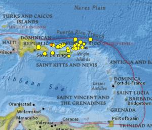 EARTHQUAKES IN THE VI