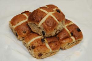 holy cross buns