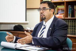 Lieutenant gubernatorial candidate John Canegata.  08 Octiber 2014.  © Aisha-Zakiya Boyd